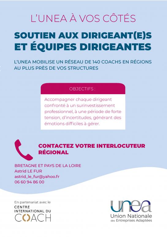 Coaching dirigeants EA Bretagne et Pays de la Loire