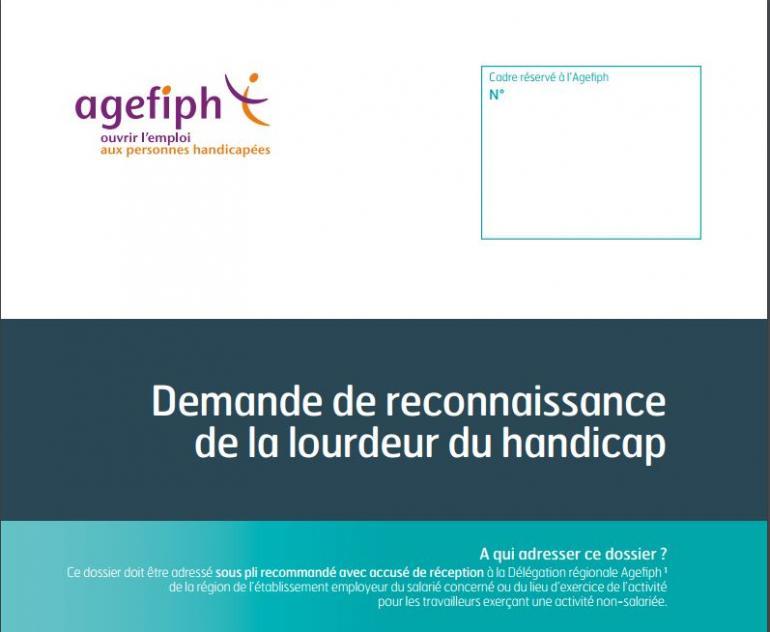 """Résultat de recherche d'images pour """"reconnaissance lourdeur du handicap agefiph"""""""