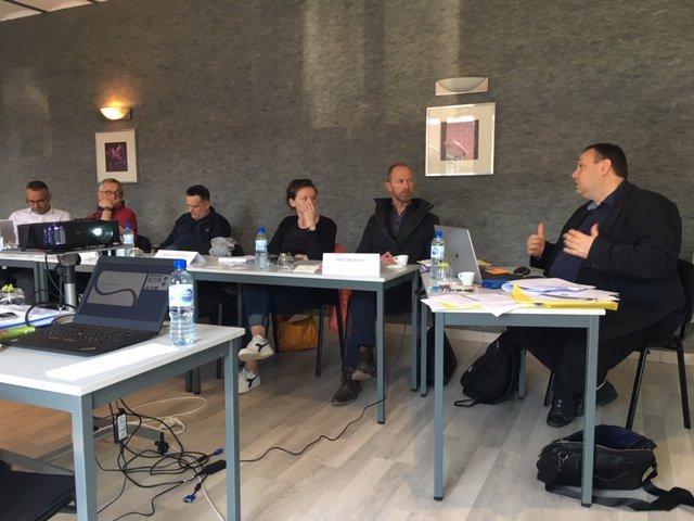 Formation du nouveau cadre d'intervention des EA à Arras