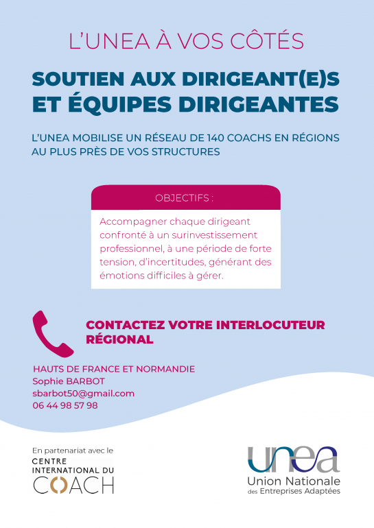 Coaching Dirigeants EA  Haut de France et Normandie