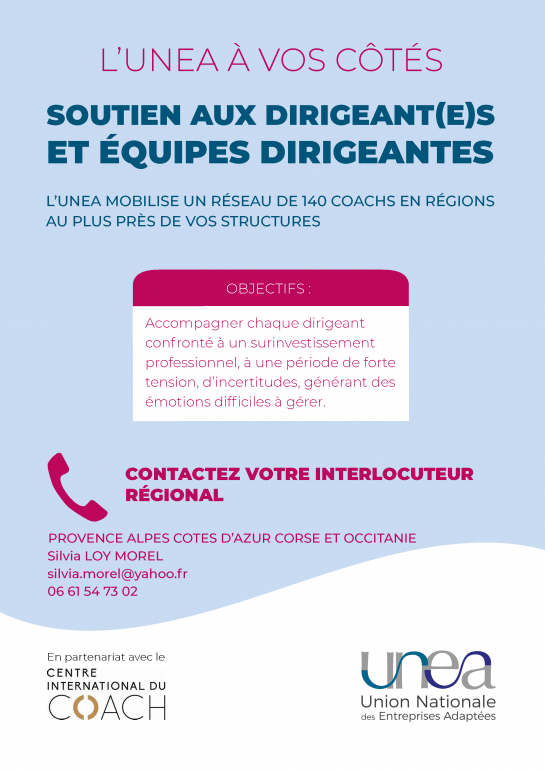 Coaching Dirigeant EA PACA, CORSE, Occitanie