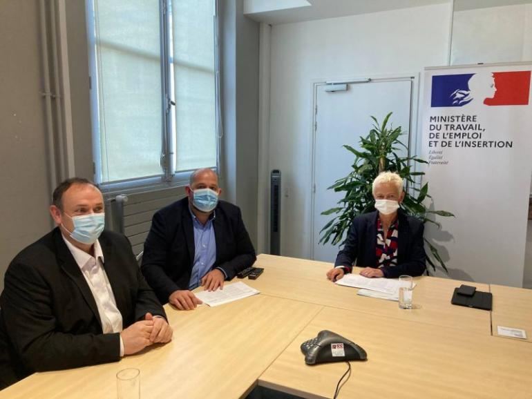 Rencontre UNEA Madame Klinkert 14 Septembre 2021