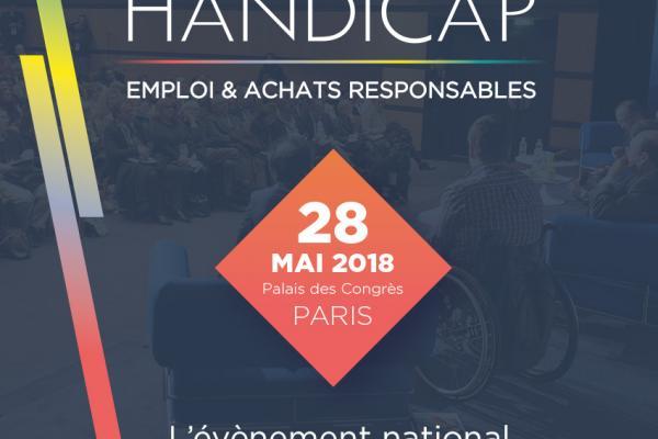Venez rencontrer l'UNEA au Salon Handicap, Emploi & Achats responsables