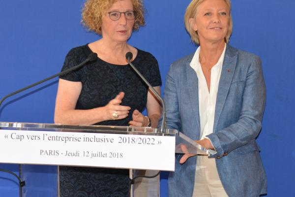 Discours de Muriel Pénicaud, Ministre du Travail lors de signature de l'engagement national