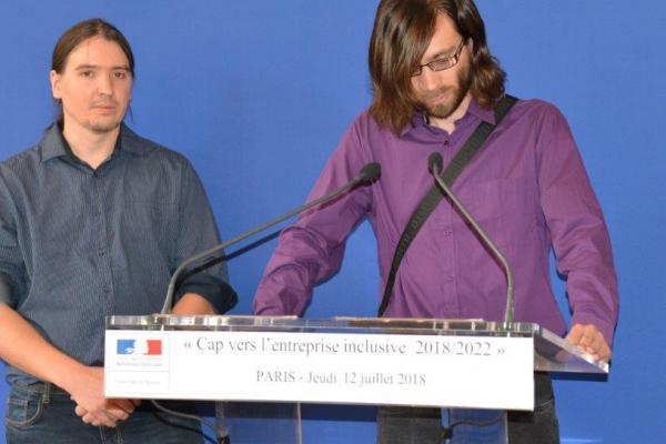 Témoignages de Guillaume et Rudy de leurs difficultés d'accéder à un emploi et de leur expérience en Entreprise Adaptée