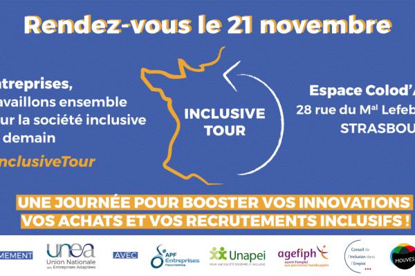 L'inclusive Tour débarque à Strasbourg : inscrivez-vous !