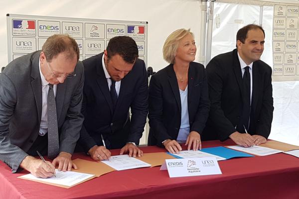 Une première en France : l'UNEA, Enedis et la Nouvelle-Aquitaine créent une section d'apprentissage inclusive pour les personnes en situation de handicap.
