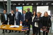 Signature des premiers CDD tremplin chez Actes à Bordeaux