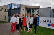 Les élus à la rencontre de l'Entreprise Adaptée ITHAC