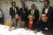 Muriel PENICAUD visite l'Entreprise Adaptée SAPRENA
