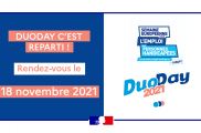 SAVE THE DATE : PROCHAIN DUODAY